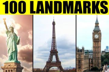 100 most famous landmarks